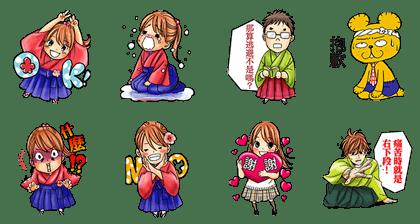 LINE Manga免費貼圖-2