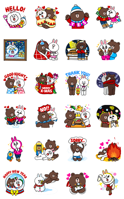 20161220 free line stickers (17)