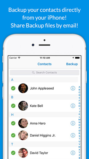 Backup Contacts Plus-1