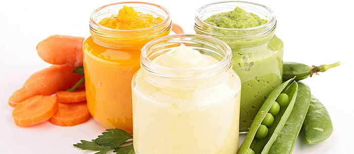 The 3 Stages Of Baby Food - Care