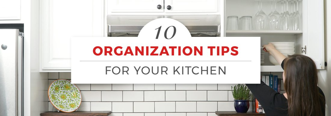 How to Organize Kitchen Cabinets in 10 Steps with Pictures