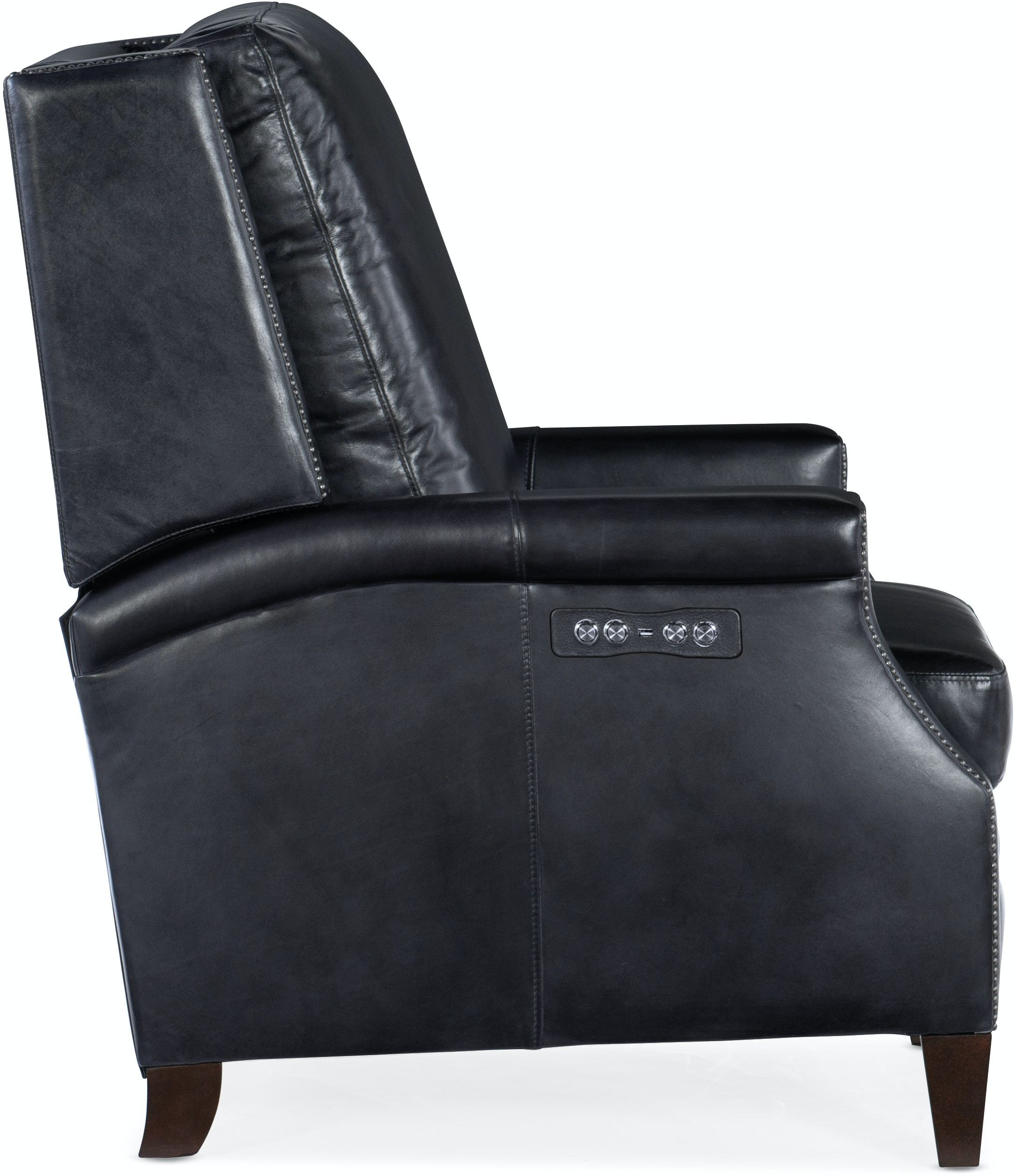 Collin Power Recliner W Power Headrest By Hooker Furniture Nis395041108 Riley S Furniture Mattress