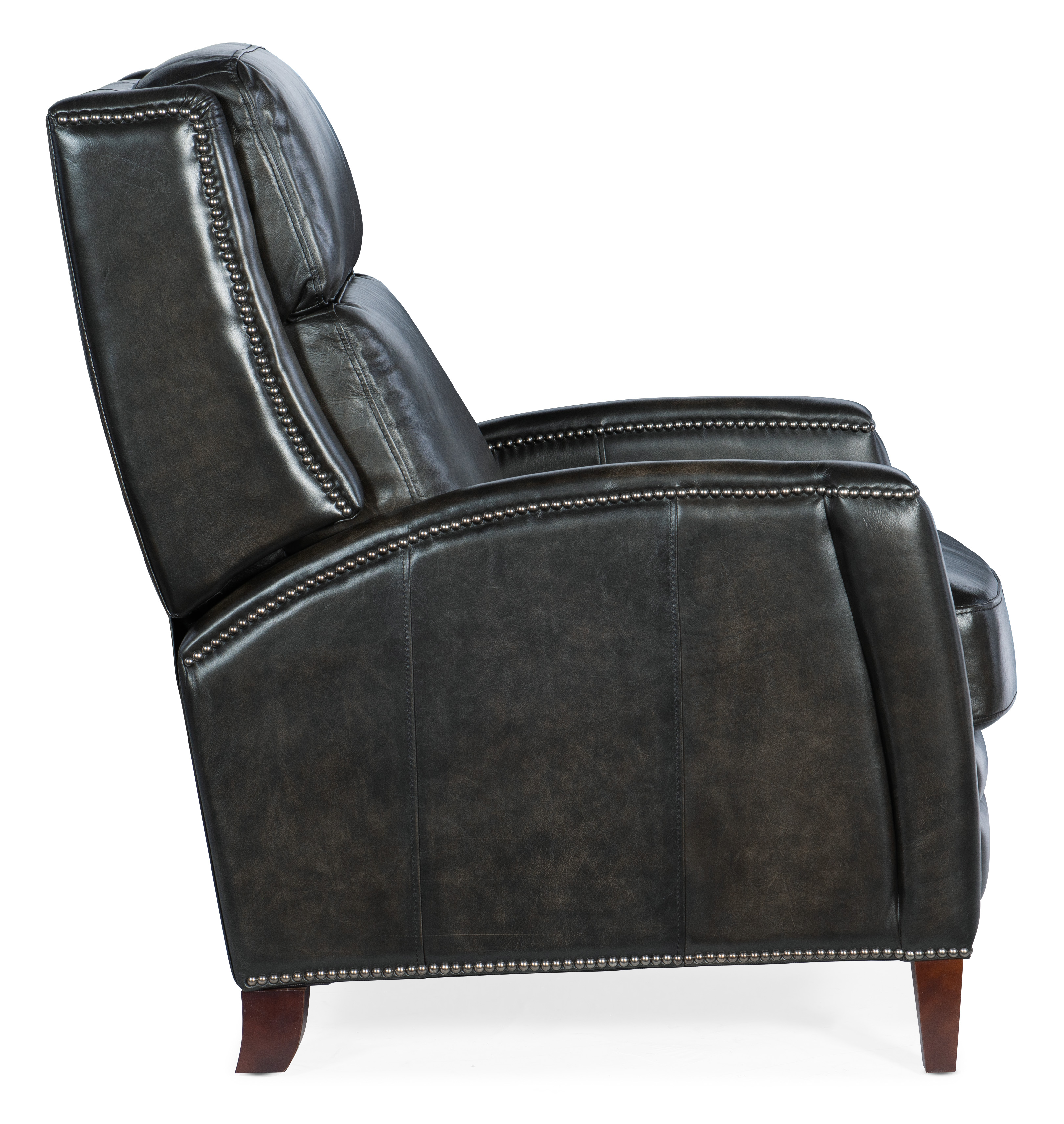 Declan Manual Push Back Recliner By Hooker Furniture Nis898166373 Riley S Furniture Mattress