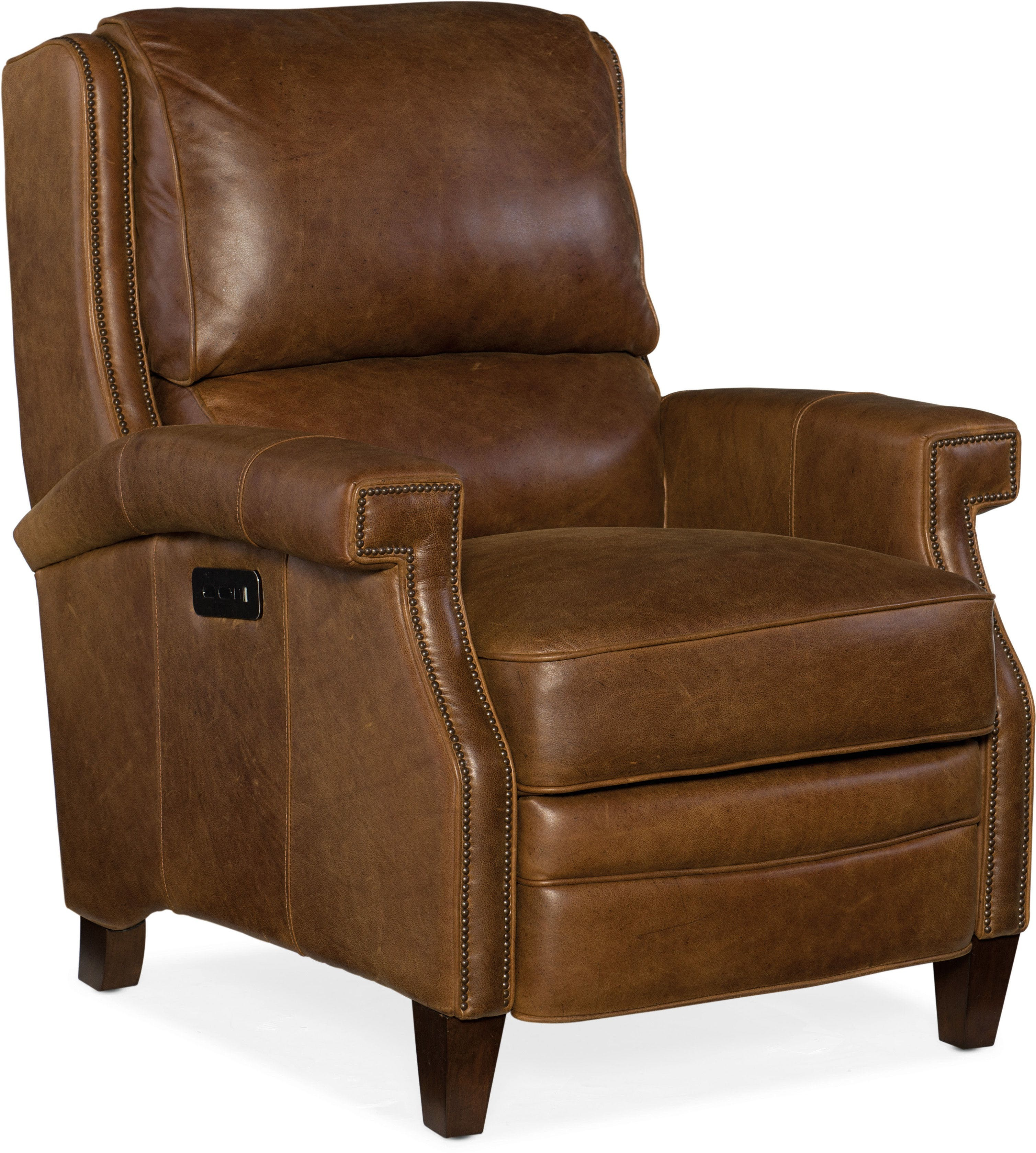 Elan Power Recliner W Power Headrest By Hooker Furniture Nis773461250 Riley S Furniture Mattress
