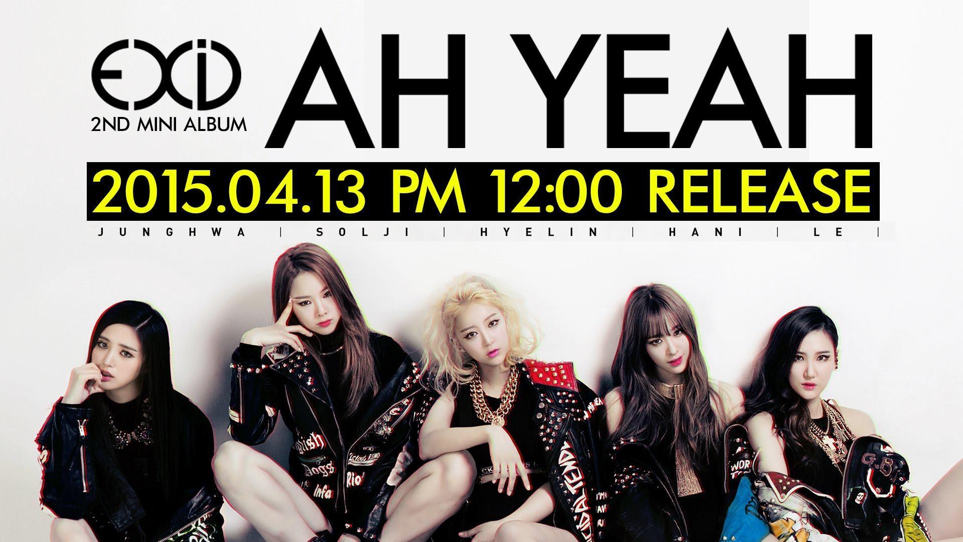 Wallpaper Girl Band Korea Exid Releases Anticipated Comeback Mv Quot Ah Yeah Quot