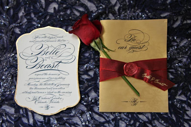Beauty And The Beast Wedding At Orchid Garden