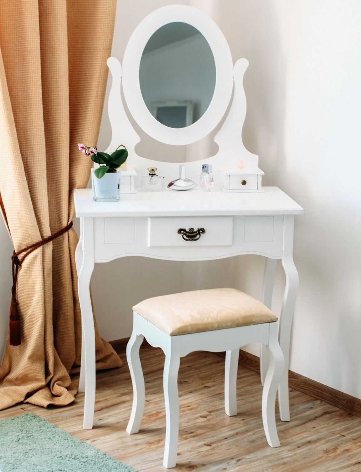 White Dressing Table Mirror White Dressing Table Mirror And Stool Set Furniture La