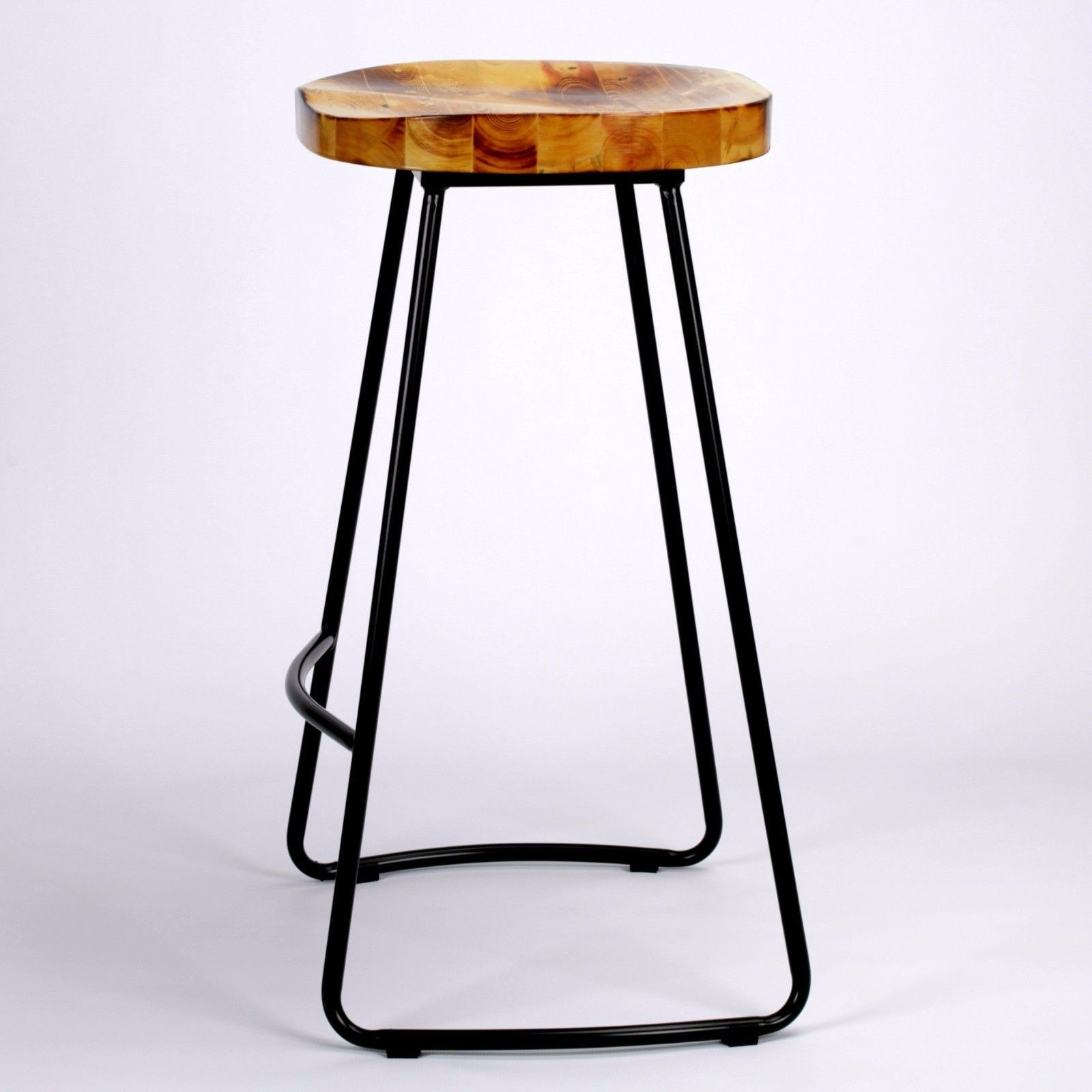 Wood And Metal Bar Stools Industrial Tractor Seat Style Metal Bar Stool Furniture