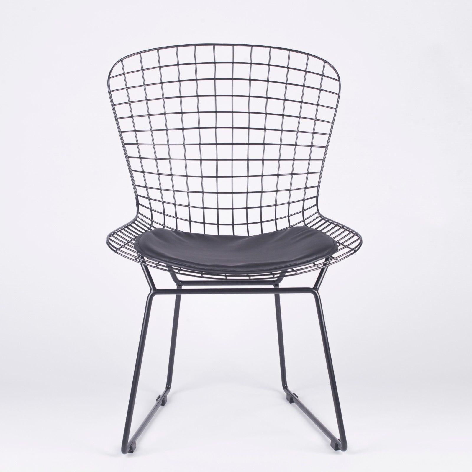 Furniture Chairs Black Black Mesh Wire Dining Chair Furniture La Maison Chic