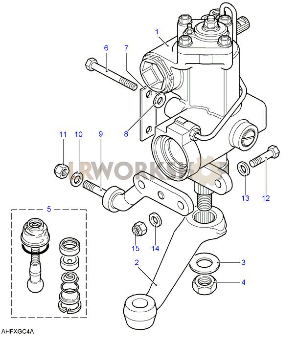 saginaw power steering box diagram ford