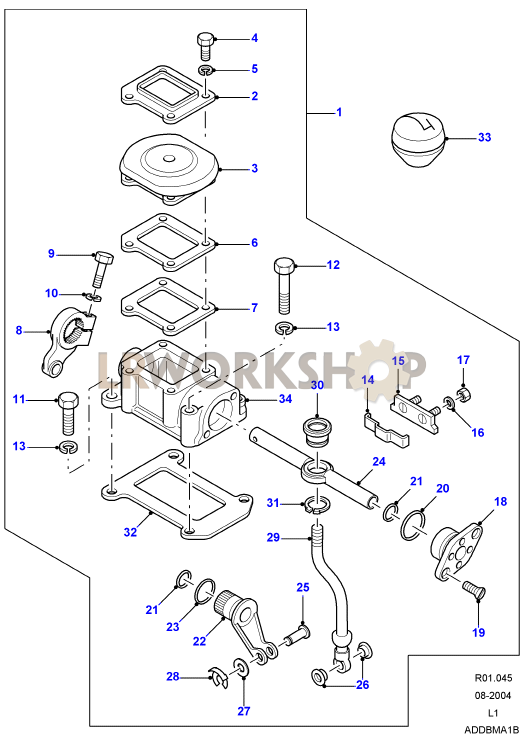 2003 land rover discovery engine rebuild kit
