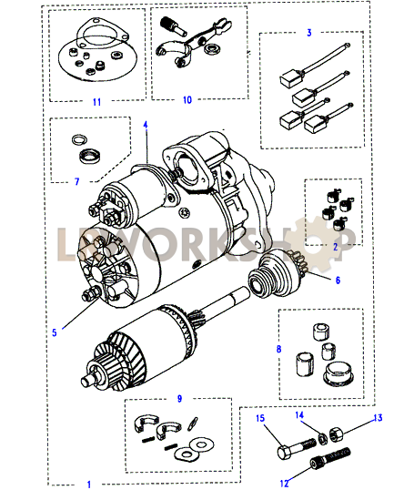 starter wiring diagram on a 1988 e350 5 8l