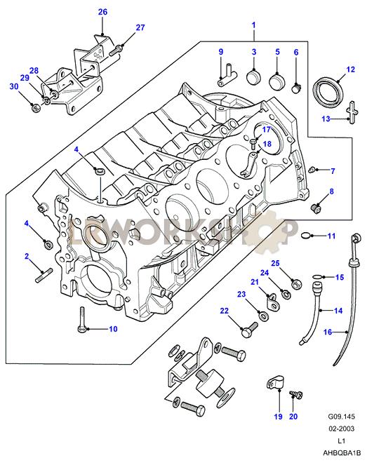 petrol engine block diagram