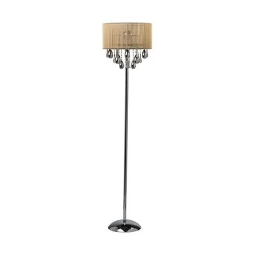 Lampadaire Chrome Lampadaire Comete Chrome Blanc Vendu Par But 1174190