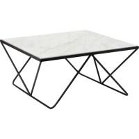 Table basse mtal et marbre noir Amadeus | La Redoute