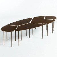 Table basse mtal, pettigrew bronze vieilli Am.Pm | La Redoute