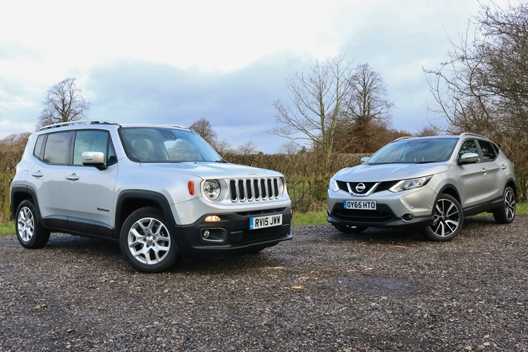 Nissan Qashqai Private Lease Suv Skirmish Jeep Renegade Vs Nissan Qashqai Leasing