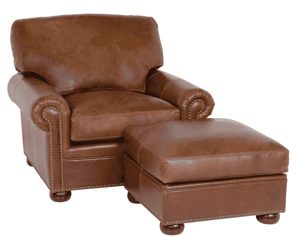Leather Chairs And Ottomans Sale Classic Leather Mccall Usa Made Leather Chair 3511