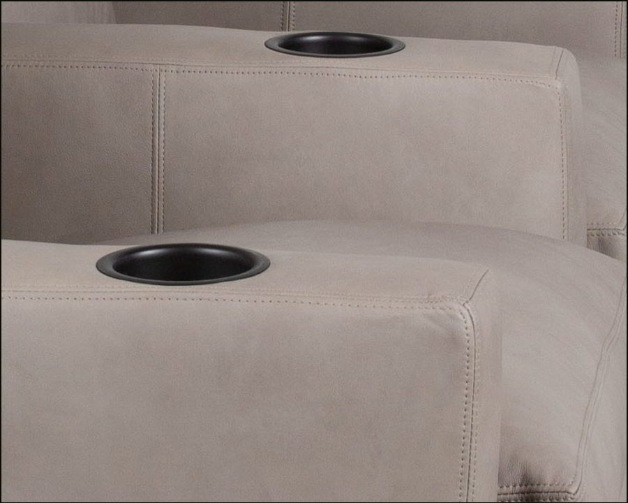 Home Theater Seating Classic Leather Alda 906 Leather