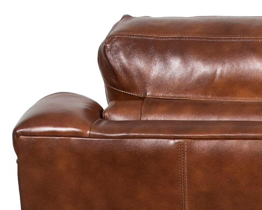 Classic Leather Harrison Reclining Sofa 9173 Mr Leather