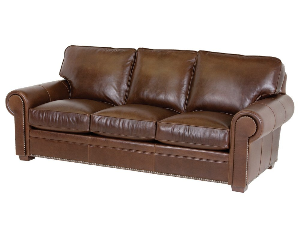 Sofas Leder Classic Leather Kirby Sofa 3518 | Leather Furniture Usa