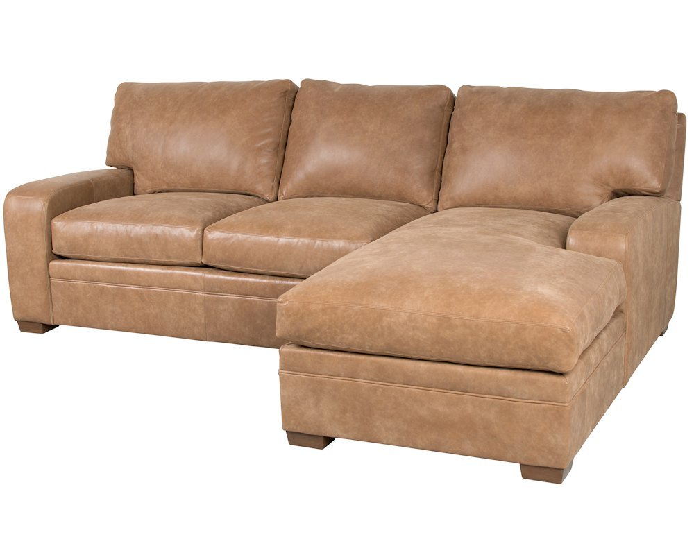 Classic Leather Vancouver Sofa Chaise 4511 Leather Furniture Usa