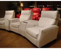 Leather Theater Sofa A M B Furniture Design Living Room ...