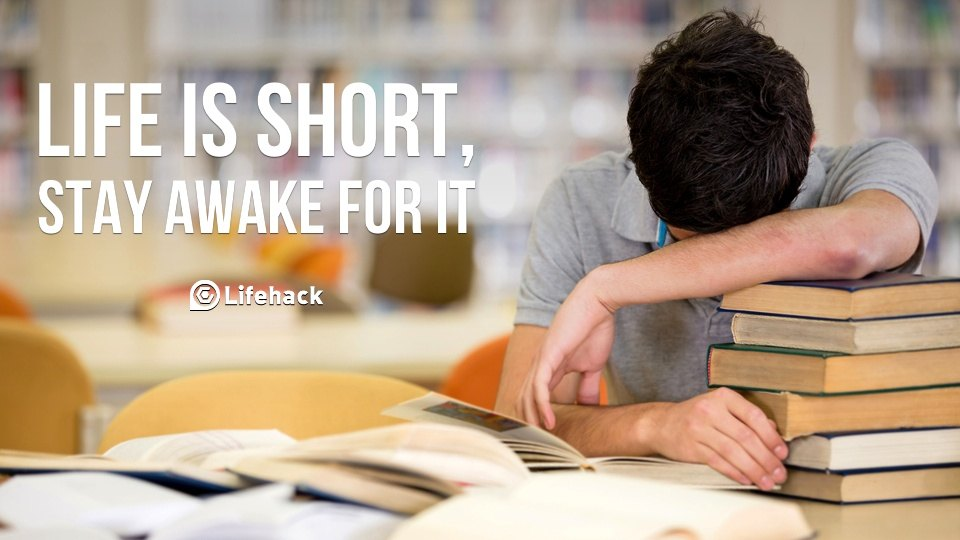How Do You Stay Awake To Go On Working?