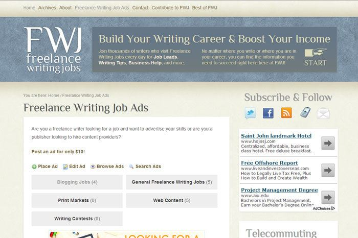 20 Websites You Can\u0027t Miss If You Want To Make Money As A Freelancer - websites to look for jobs