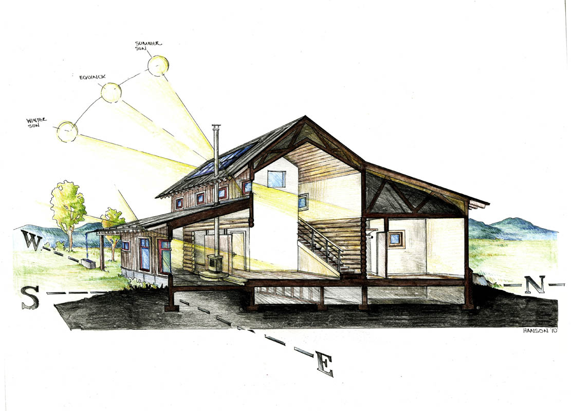 Architectual Illustrations Colored Pencil Architectural Illustrations Hanson