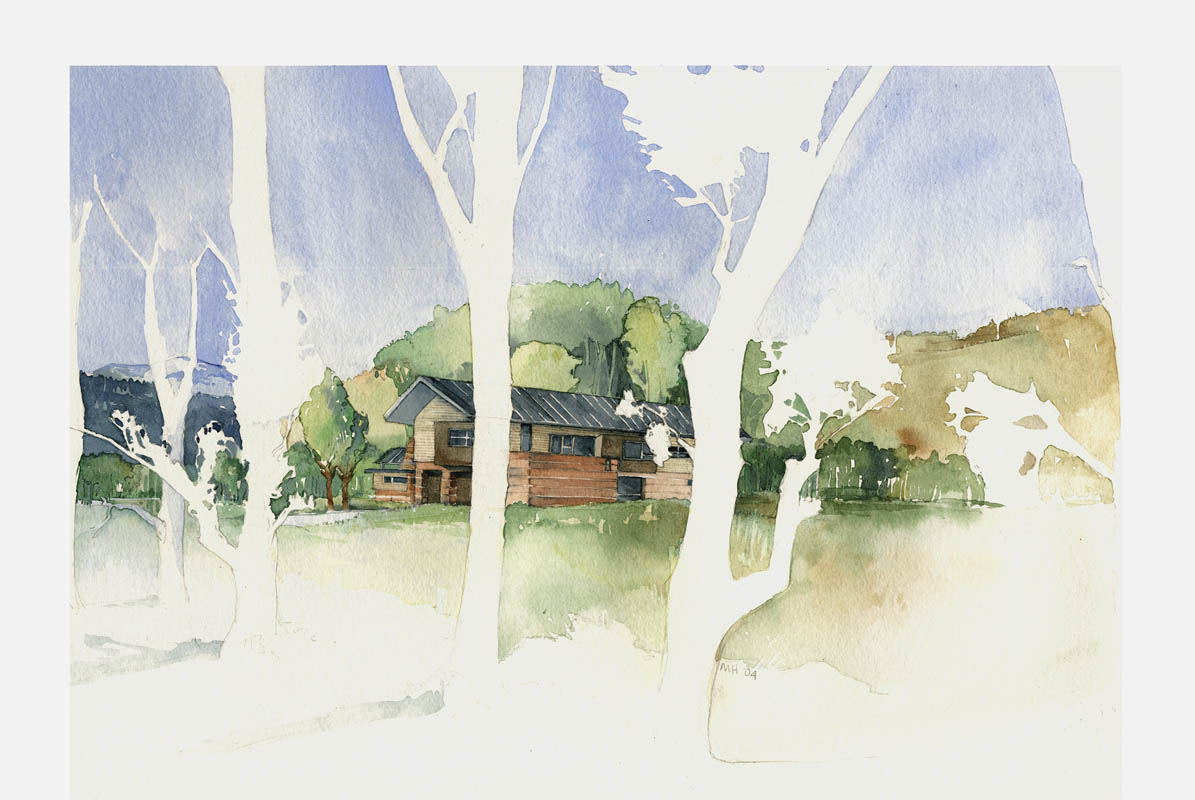 Architectual Illustrations Back1 Watercolor Architectural Illustrations Hanson