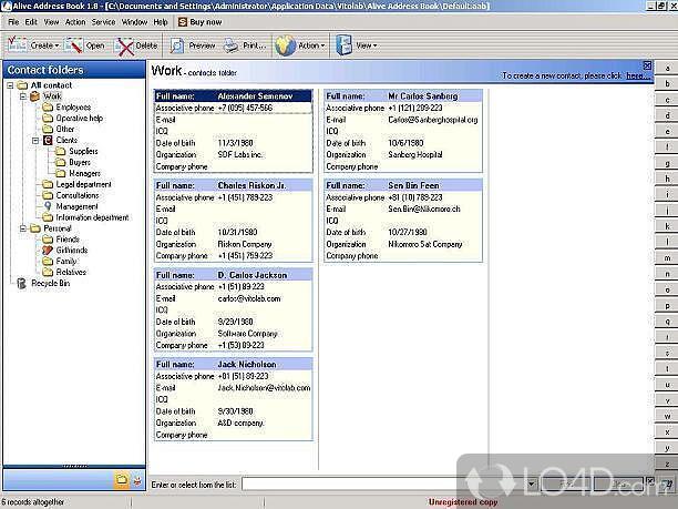windows address book download - Militarybralicious - software for address book