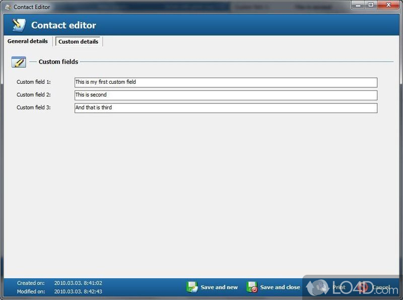 Free Address Book - Download - software for address book