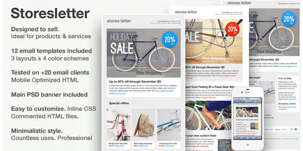 25+ Free and Premium Email Newsletter Templates and Layouts - free newsletter layouts