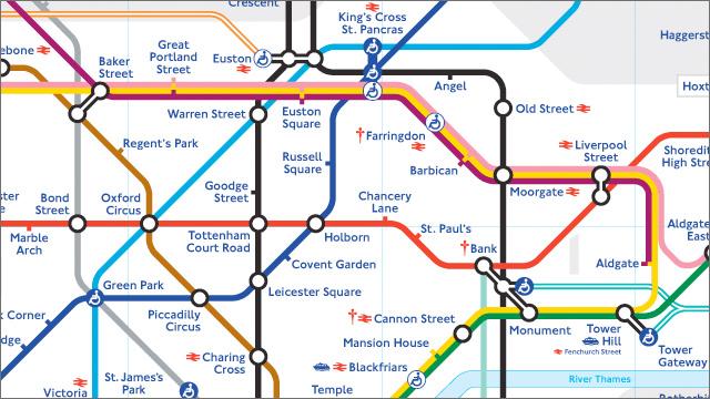 Free London travel maps - visitlondon