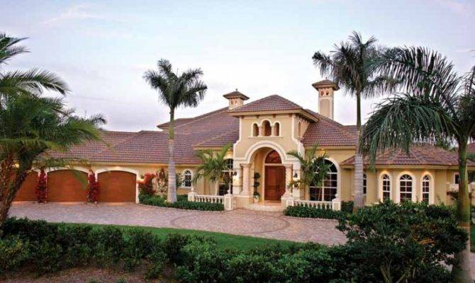 Smart Placement Single Story Spanish Style Homes Ideas - Home