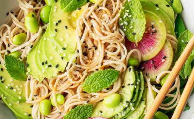 Sesame Soba Noodles Recipe Love And Lemons