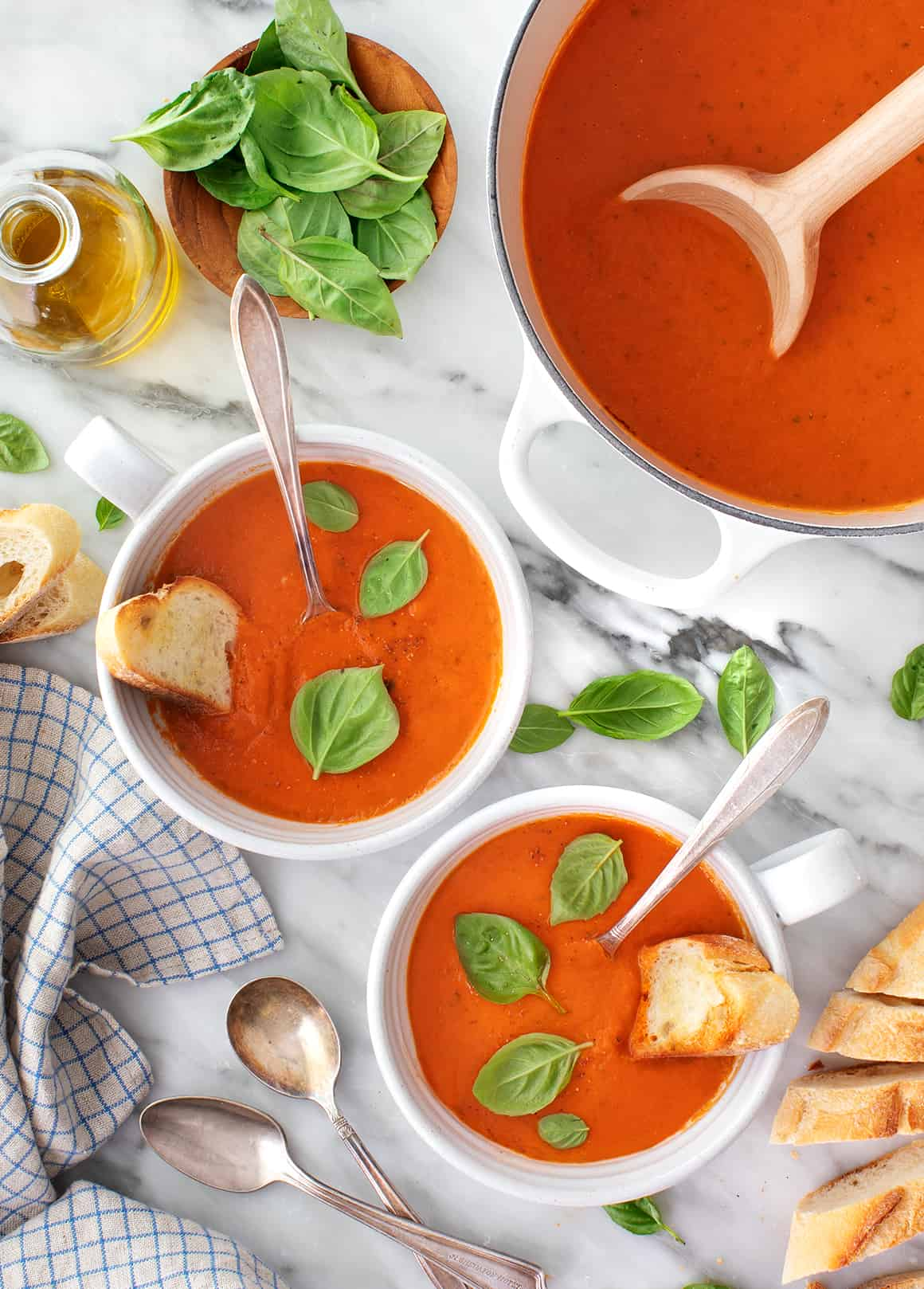 Tomato Basil Soup Recipe Love And Lemons