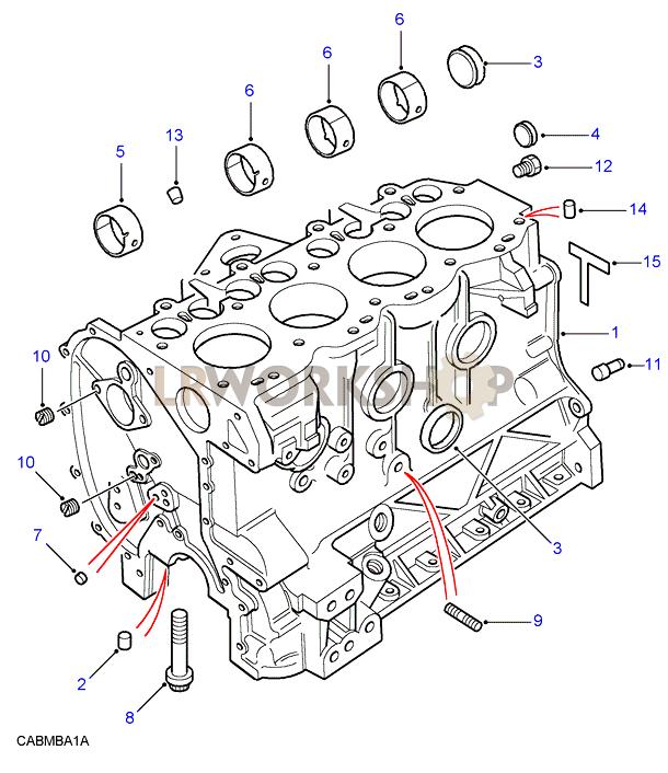 rover 200 engine diagram