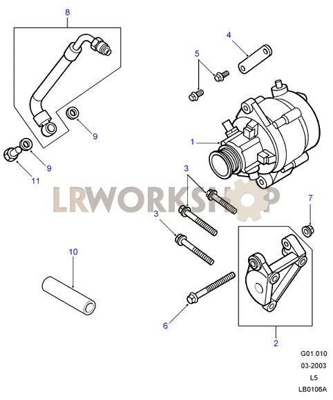 land rover defender td5 engine diagram