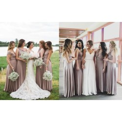 Small Crop Of Taupe Bridesmaid Dresses