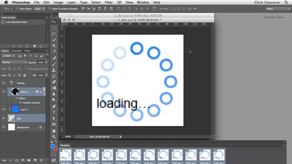 Design the Web Animated Loading GIFs