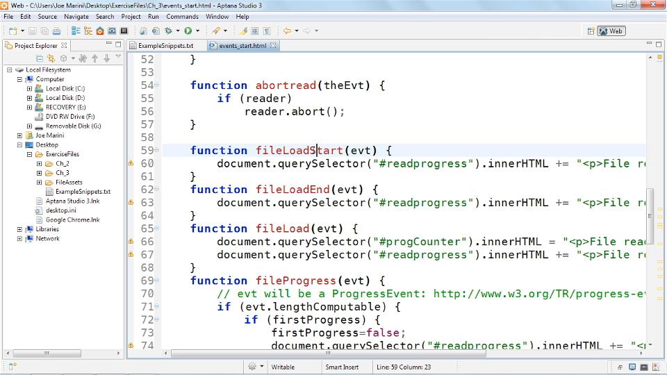 HTML5 File API - google file system