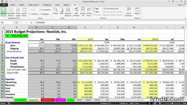 Running a macro from the Developer tab or the View tab - excel developer