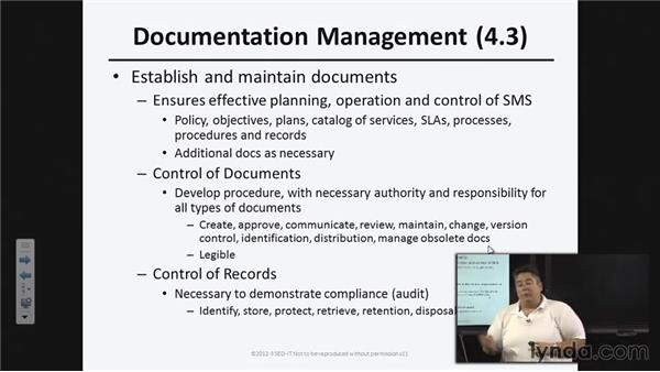 Service management system (SMS) general requirements