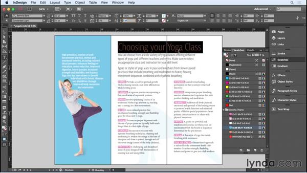 Preparing the trifold brochure for print