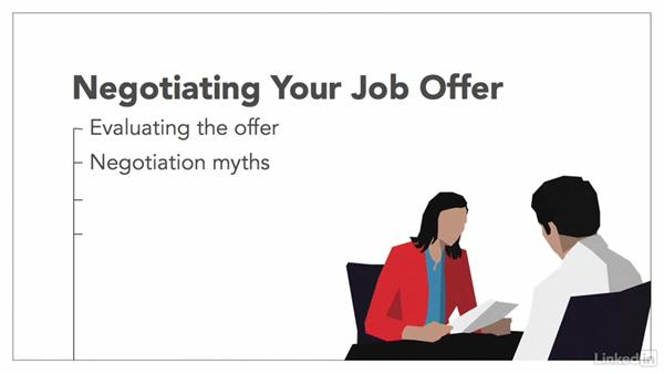 Welcome - negotiating job offers