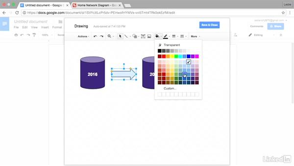 Create flowcharts with Google Drawings
