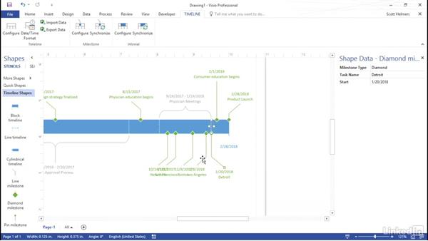 Build a timeline from a project plan