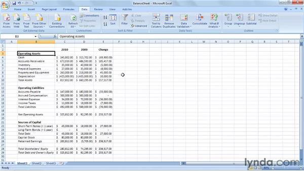 Introducing the balance sheet